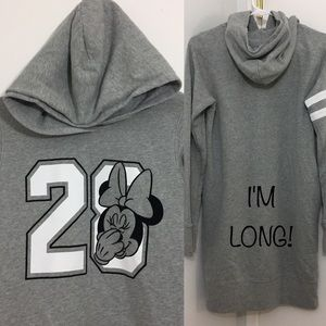 4bd22e1f97f Uniqlo Tops - UniQlo Minnie Mouse Disney Hoodie Sweatshirt Dress